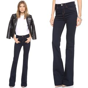 J Brand The Doll High Waist Flare Jeans Size 25